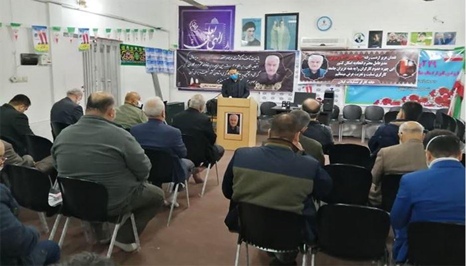مراسم یادبود حاج آقا حسن رسولی در گیلان